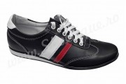 Pantofi barbati sport din piele naturala negri