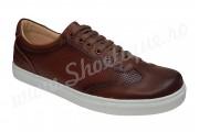 Pantofi sport barbati piele naturala maro