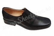 Pantofi lati eleganti din piele naturala