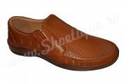 Pantofi de vara Suceveanu usori si lati piele naturala perforata talpa EPA