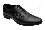 Pantofi negri barbati eleganti piele naturala