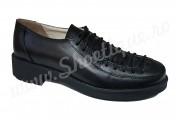 Pantofi dama din piele naturala negri
