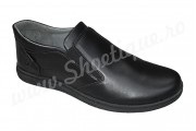 Pantofi lati si comozi fara siret din piele naturala cu marimi mari 45, 46