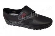 Pantofi dama cu scai/velcro piele naturala marimi 36-42