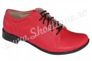 Pantofi rosii dama piele naturala