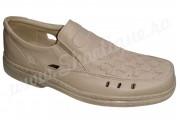 Pantofi vara din piele naturala bej