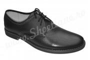 Pantofi barbatesti din piele naturala negri